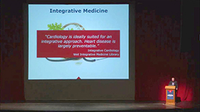 """Dr. Kron on integrative medicine and heart disease as """"largely preventable"""""""
