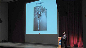 Noted runner and author Jim Fixx's 1984 death from a heart attack serves as example that prevention isn't the be-all, end-all for health, Dr. Kron adds