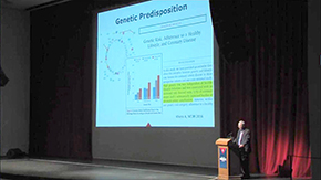 Genetic predispositions can add to risk of heart disease, Dr. Kron notes, and precision medicine is offering greater understanding of both methods toward prevention and intervention
