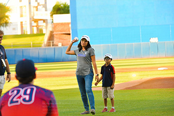 Strike Out Cancer Night at Kino Sports Complex with Dr. Rachna Shroff - 3