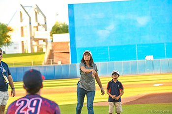Strike Out Cancer Night at Kino Sports Complex with Dr. Rachna Shroff - 4