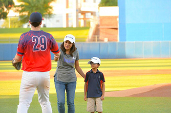 Strike Out Cancer Night at Kino Sports Complex with Dr. Rachna Shroff - 5