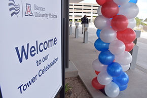 Welcome to new Banner – UMC Tucson hospital tower morning open house