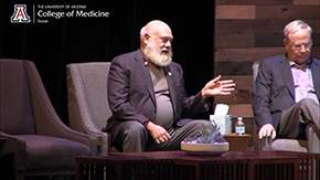 Dr. Andrew Weil makes a point