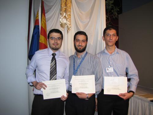 Drs. Ahmad Al-Khashman, Naser Mahmoud and Moh'd Jibreel