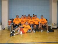 Internal Medicine 'Fleas' basketball team