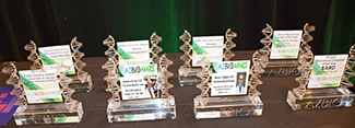 2017 AZBIO Awards for Drs. Marvin Slepian, Lawrence Hurley, Carol Bender, Evan Unger and Steve Goldman's Avery Therapeutics