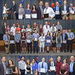 Sample images from photo gallery for the 2018 Annual Faculty Teaching Awards at the UA College of Medicine – Tucson