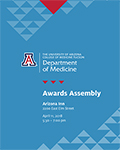 Program cover for 2018 DOM Annual Awards Assembly