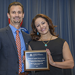Erika Bracamonte, MD, wins 2018 Vernon & Virginia Furrow Excellence in Basic Science Teaching – Undergraduate Medical Curriculum award