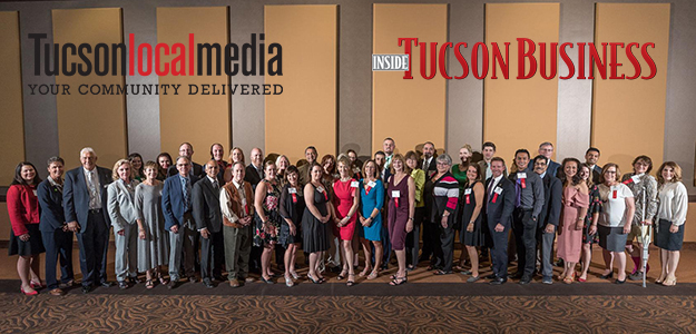 Group photo from 2018 Influential Health and Medical Leaders Awards banquet