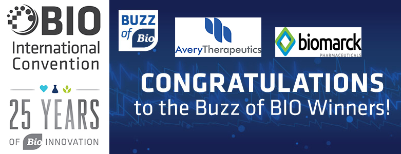 Banner image for Buzz of Bio award for UA-spinoff Avery Therapeutics