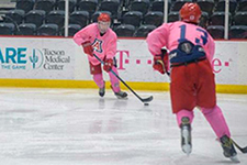Tucson Roadrunners 'Pink the Rink' hockey game to support UA Cancer Center, Jan. 19, 2019