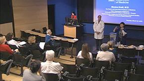 Drs. Joe Alpert and Monica Kraft field questions on P&T application changes