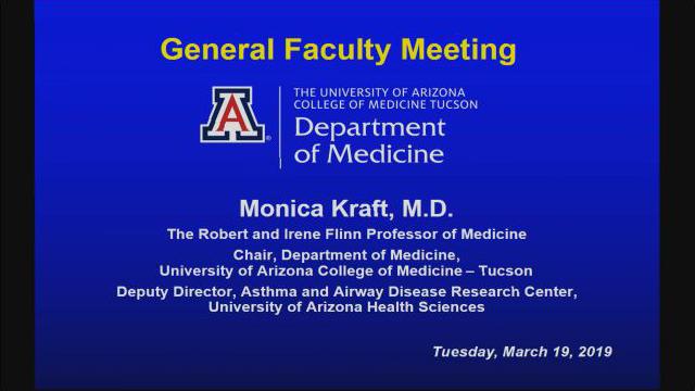 Banner – University Medicine CEO Q&A Highlights DOM Spring