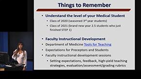 Dr. Amy Sussman discusses educational achievements 3