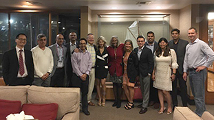 UA Gastroenterology faculty, fellows and family at the DDW 2019 conference in San Diego in May 2019