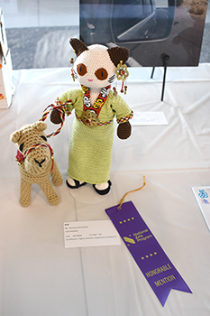 Winning doll for Varvara Zemskova, daughter of Evgeny Zemskov, PhD
