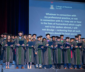 """UA College of Medicine – Tucson """"Class of 2019"""" Convocation (Courtesy Kevin Reilly, MD) - 25"""
