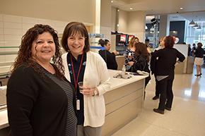 Nephrology's Gina Favela and Jackie May, NP
