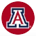 UofA block 'A' in red circle icon
