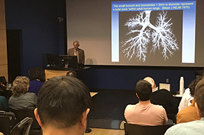 A2DRC guest speaker Dr. James Hogg lectures on IPF genetics on Jan. 25 - photo #2