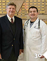 Jack Wilson and Dr. Daniel Persky