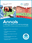 May 2018 cover of The Annals of Allergy, Asthma & Immunology