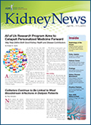 Cover of ASN Kidney News for August 2017