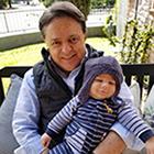 Atanasio Gatzionis and, his grandson, Athanasios