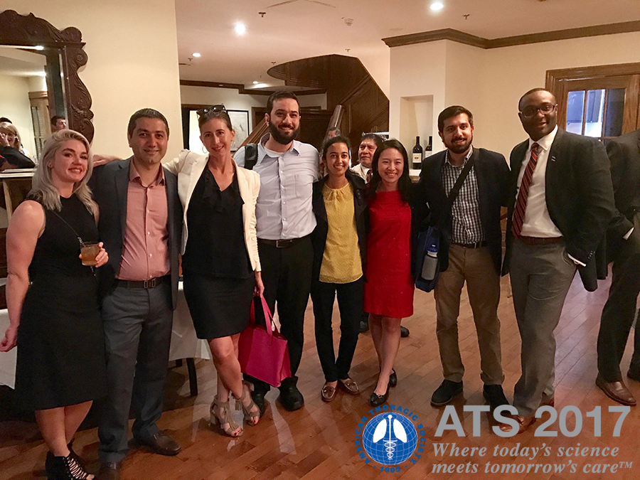 Part of the UA Department of Medicine delegation at ATS 2017