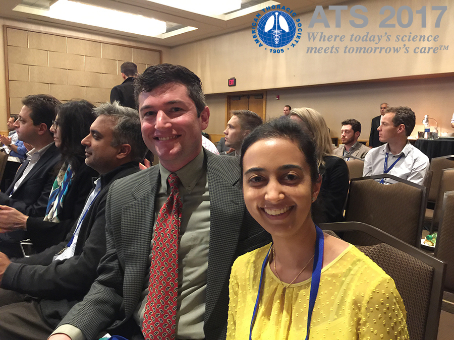 University of Arizona medical student Todd Golden and Khushboo Goel, MD