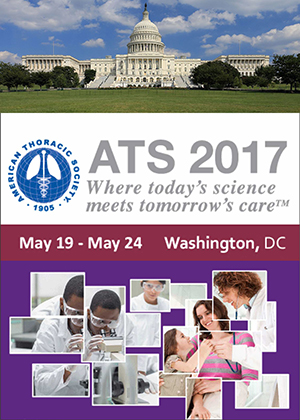 American Thoracic Society 2017 International Conference flyer image