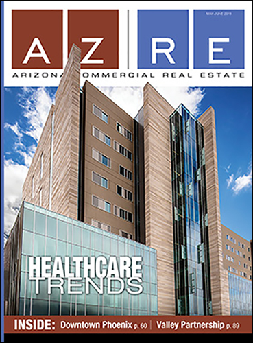 Banner Umc Tucson Opening Featured On Cover Of Arizona Commercial Real Estate Magazine Department Of Medicine
