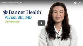 Banner Health video profile image for Dr. Vivian Shi