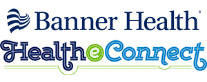Banner Health and Health eConnect logos