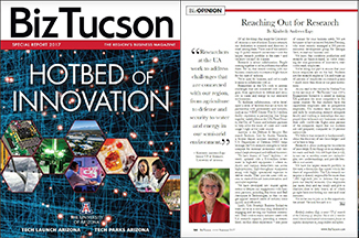 BizTucson - Hotbed of Innovation at UA - Summer 2017