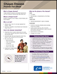 CDC fact sheet for medical providers on Chagas Disease - June 2018
