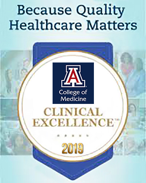 Illustration of Clinical Excellence Awards 2019 | UA College of Medicine – Tucson
