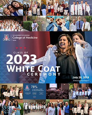 Teaser image for story on UA College of Medicine – Tucson's Class of 2023 White Coat Ceremony