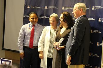 Drs. Tejo Vemulapalli, Naomi Rance, Erika Bracamonte and Irv Kron