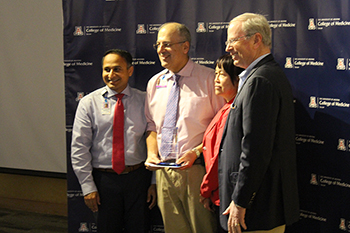 Drs. Tejo Vemulapalli, Tirdad Zangeneh and Irv Kron