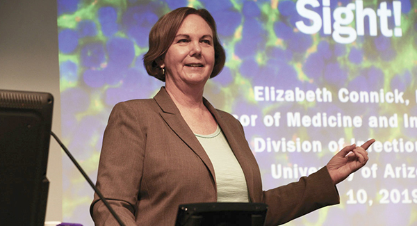 """Elizabeth """"Liz"""" Connick, MD, chief, University of Arizona Division of Infectious Diseases"""