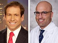KOLD13/FOX11 anchor Craig Thomas and Dr. Sasha Taleban