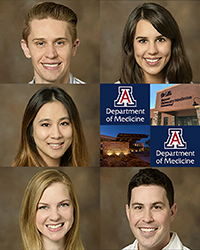 Dermatology program residents who presented at Medicine Grand Rounds on May 1
