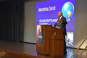 Diversity Lecture by Dr. L.W. Britt for MLK Day on Jan. 22 - photo #4