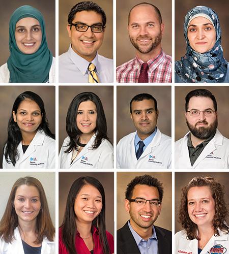 New, Old Fellows in Dept  of Medicine Programs Bring Varied