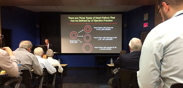 Dr. Douglas Mann talks about types of heart failure