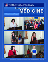 Photo spread of UA Department of Medicine awards presentation and reception