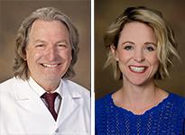 Dr. Steve Klotz and Shannon Smith